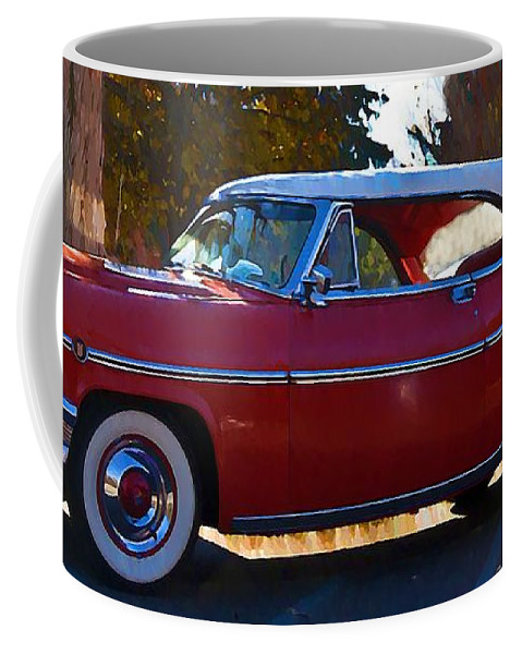 1954 Coffee Mug featuring the photograph 1954 Mercury Monterey by Bill Cannon