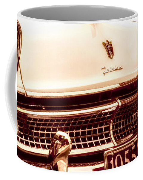 Ford Coffee Mug featuring the photograph 1955 Ford Fairlane by Bob Orsillo