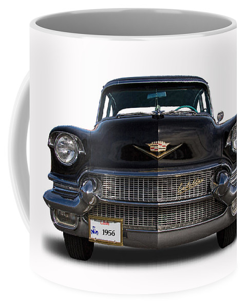 1956 Coffee Mug featuring the photograph 1956 Cadillac Sixty Special by Nick Gray