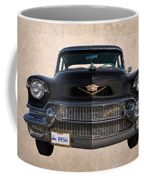 1956 Coffee Mug featuring the photograph 1956 Cadillac Special by Nick Gray