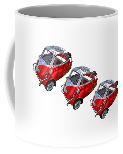 1957 Coffee Mug featuring the photograph 1957 Isetta 300 by Nick Gray