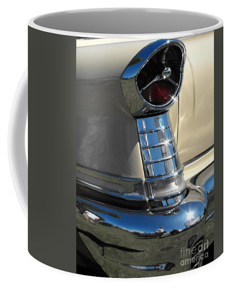 Oldsmobile Coffee Mug featuring the photograph 1957 Oldsmobile Super 88 by Neil Zimmerman