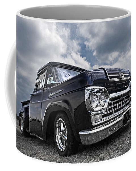 Ford F100 Coffee Mug featuring the photograph 1960 Ford F100 Truck by Gill Billington