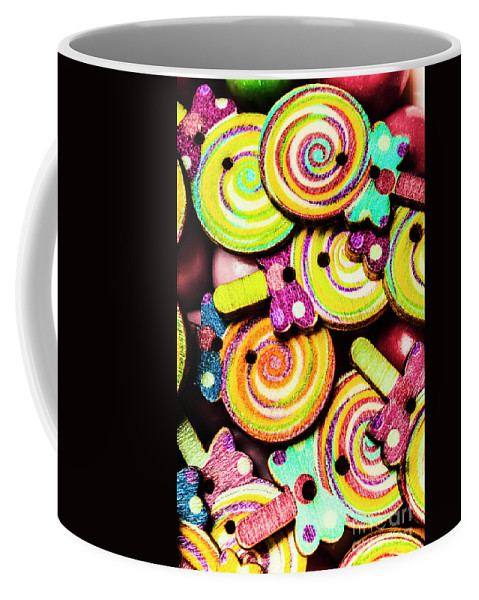 Lolly Coffee Mug featuring the photograph 1960s Hypnotic Sweetness by Jorgo Photography - Wall Art Gallery