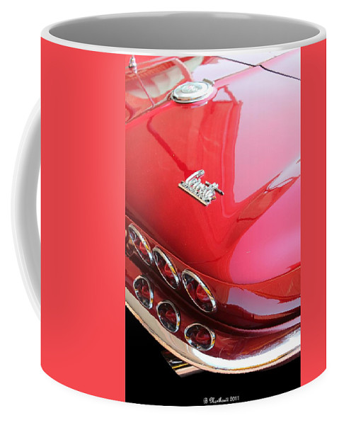 1966 Coffee Mug featuring the photograph 1966 Corvette Stingray by Betty Northcutt