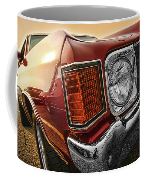 1970 Coffee Mug featuring the photograph 1972 Chevrolet Chevelle Ss by Gordon Dean II