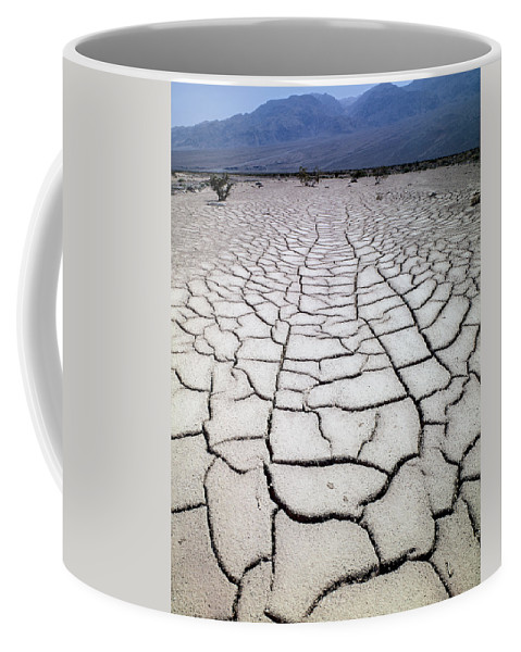 Mud Cracks Coffee Mug featuring the photograph 1a6832 Mud Cracks In Death Valley by Ed Cooper Photography