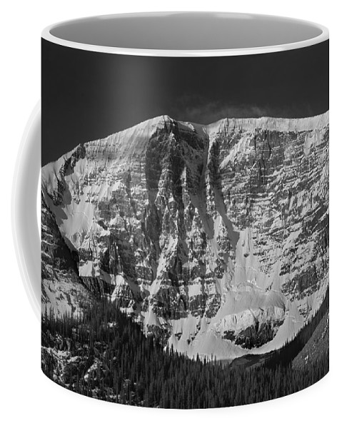 East Face Coffee Mug featuring the photograph 1m3769 Bw East Face Mt Kitchner by Ed Cooper Photography