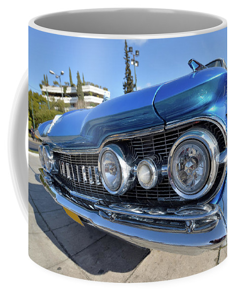 Classic Coffee Mug featuring the photograph 1959 Oldsmobile Dynamic 88 by George Atsametakis