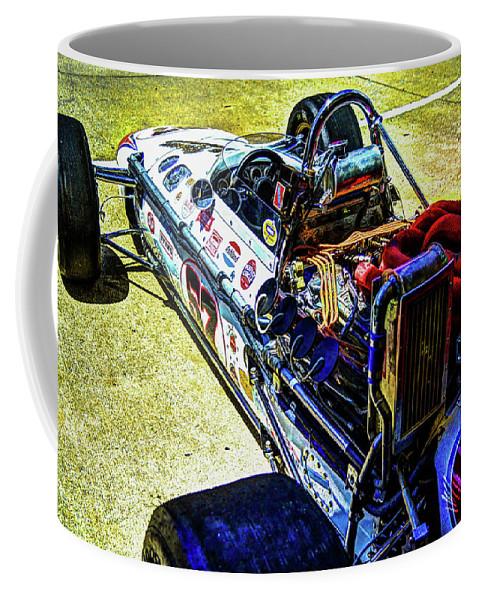 Josh Williams Photography Coffee Mug featuring the photograph 1966 Gearhardt Rear Engine V8 by Josh Williams