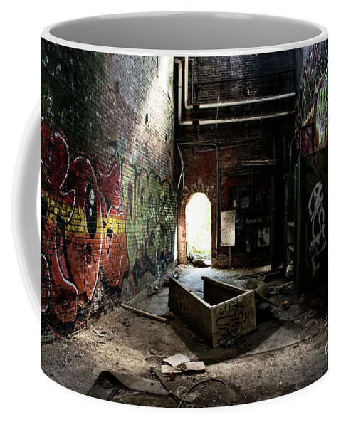 Abandoned Coffee Mug featuring the photograph Abandonment by FineArtRoyal Joshua Mimbs