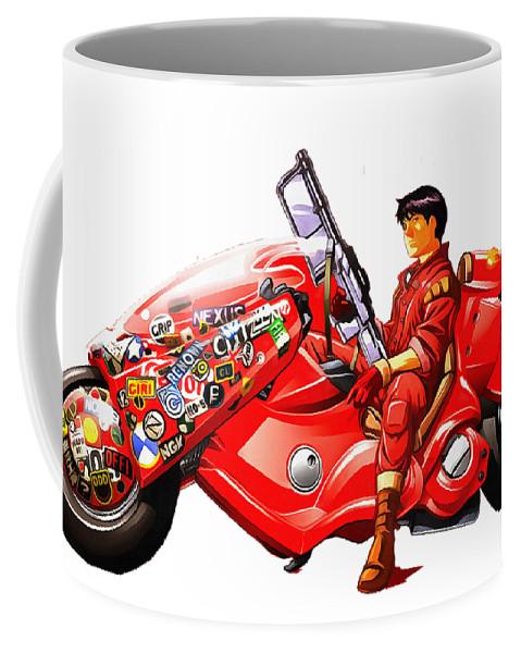 Coffee Mug featuring the digital art Akira by Candra Dian