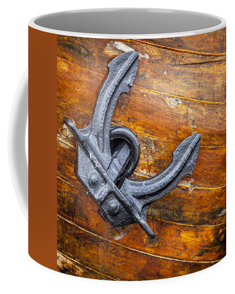 Anchor Coffee Mug featuring the photograph Anchor by Alexey Stiop
