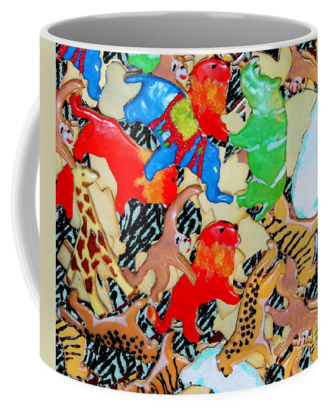 Cookies Coffee Mug featuring the photograph Animal Cookies by Madeline Ellis