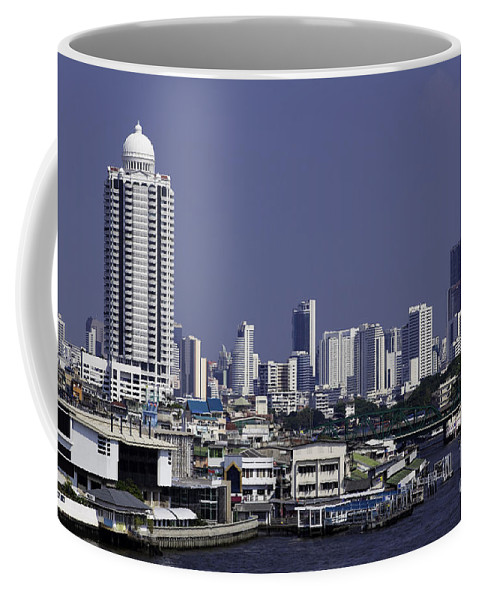 Daytime Coffee Mug featuring the photograph Bangkok Thailand by Anthony Totah