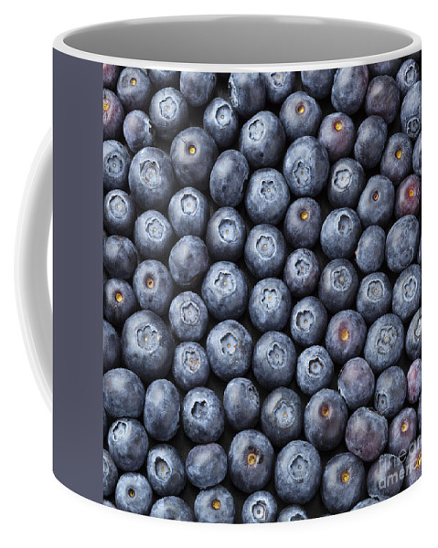 Blueberries Coffee Mug featuring the photograph Blueberries by Julie Woodhouse