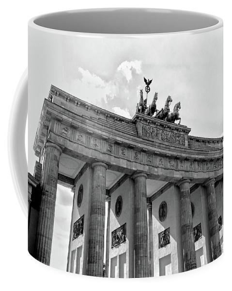 Europa Coffee Mug featuring the photograph Brandenburg Gate - Berlin by Juergen Weiss