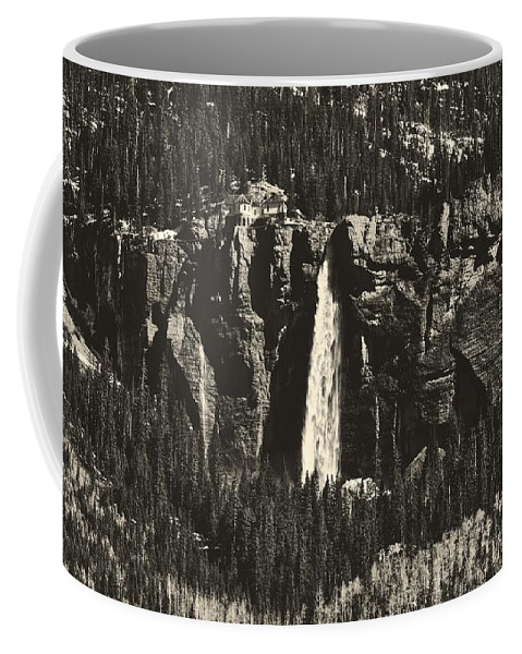 Overlook Coffee Mug featuring the photograph Bridal Veil Falls by L O C