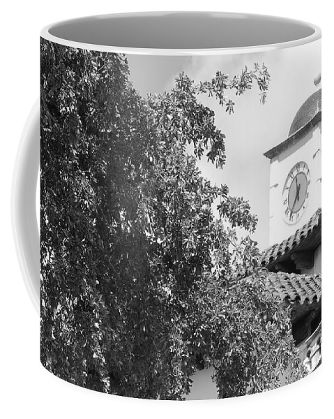 Clock Coffee Mug featuring the photograph Clock Tower by Rob Hans