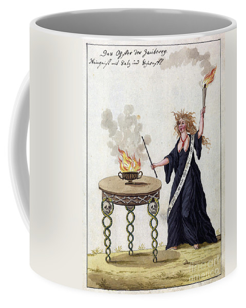 History Coffee Mug featuring the photograph Demonology, 18th Century by Wellcome Images