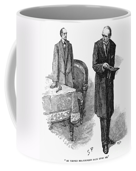 1893 Coffee Mug featuring the photograph Doyle: Sherlock Holmes by Granger