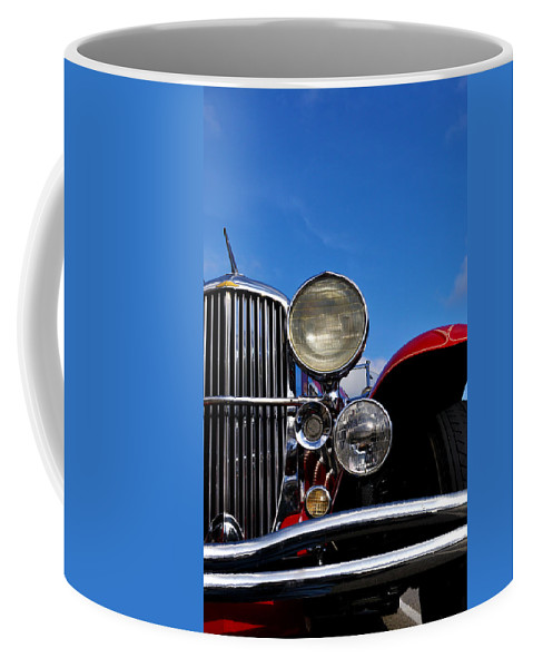Vintage Coffee Mug featuring the photograph Duesenberg by Tim Nyberg