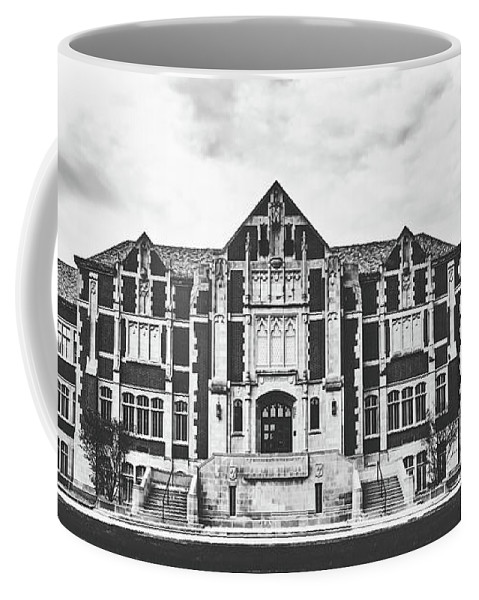 Ball State University Coffee Mug featuring the photograph Fine Arts Building - Ball State University by Library Of Congress