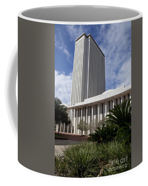 Florida Coffee Mug featuring the photograph Florida State Capitol Building by Anthony Totah