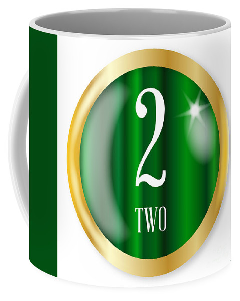 Two Coffee Mug featuring the digital art 2 For Two by Bigalbaloo Stock