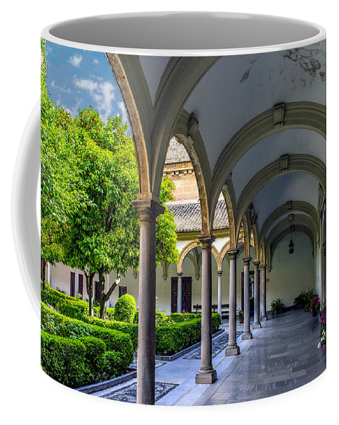 Granada Coffee Mug featuring the photograph Granada Spain by Jon Berghoff