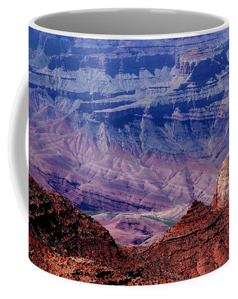 Grand Canyon Coffee Mug featuring the photograph Grand Canyon View by Susanne Van Hulst