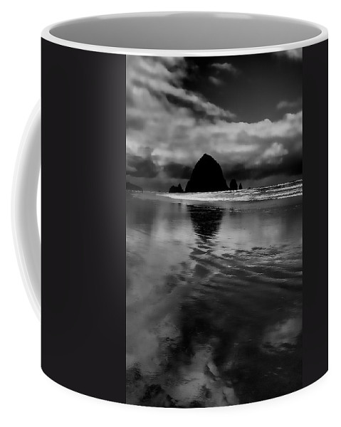 Cannon Beach Coffee Mug featuring the photograph Haystack Rock by David Patterson