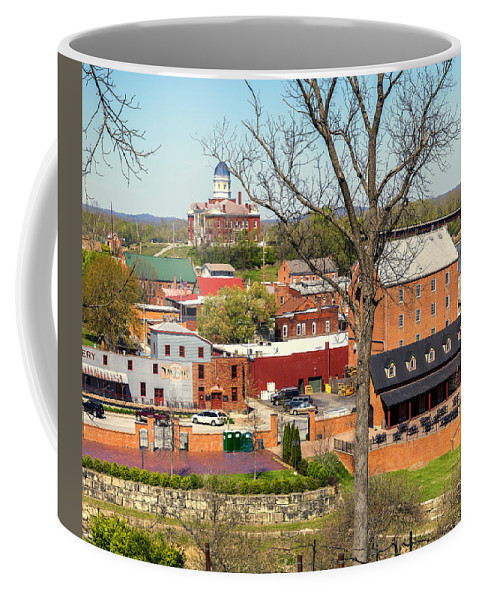 Hermann Coffee Mug featuring the photograph 2-hermann Mo Triptych Center_dsc3992 by Greg Kluempers