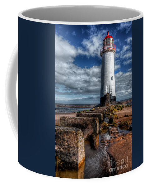 Beach Coffee Mug featuring the photograph House Of Light by Adrian Evans