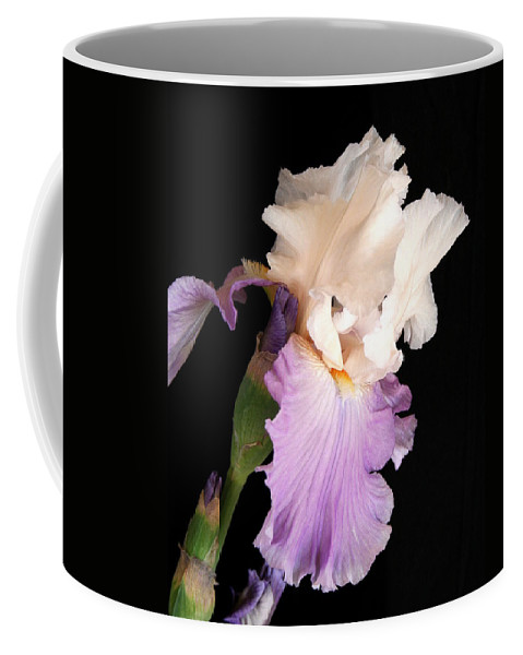 Iris Coffee Mug featuring the photograph Iris by Marna Edwards Flavell