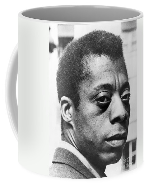 20th Century Coffee Mug featuring the photograph James Baldwin by Granger