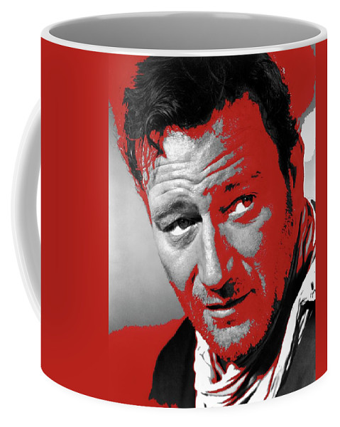 John Wayne 3 Godfathers Publicity Photo 1948-2013 Coffee Mug featuring the photograph John Wayne 3 Godfathers Publicity Photo 1948-2013 by David Lee Guss