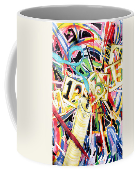 Life Coffee Mug featuring the painting Life by Rollin Kocsis
