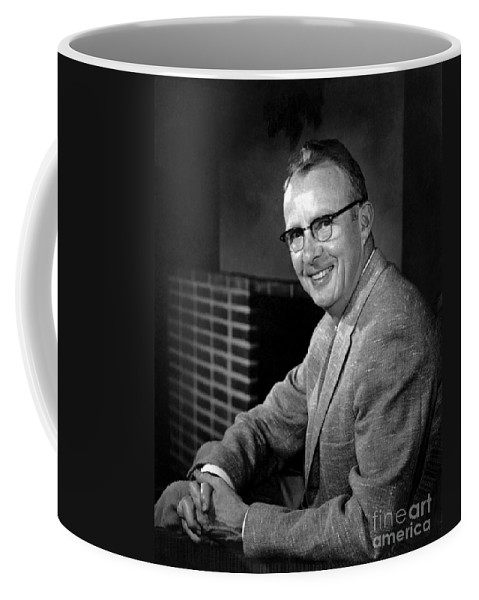 Science Coffee Mug featuring the photograph Luis Alvarez, American Physicist by Science Source