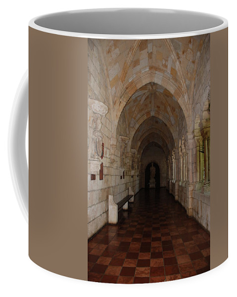 Architecture Coffee Mug featuring the photograph Miami Monastery by Rob Hans