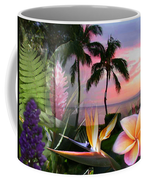 Bird Of Paradise Coffee Mug featuring the photograph Natural Beauty by Angie Hamlin