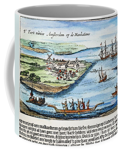 1651 Coffee Mug featuring the photograph New Amsterdam by Granger