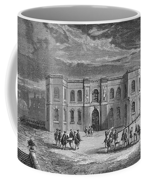 Science Coffee Mug featuring the photograph Paris Observatory, 17th Century by Science Source