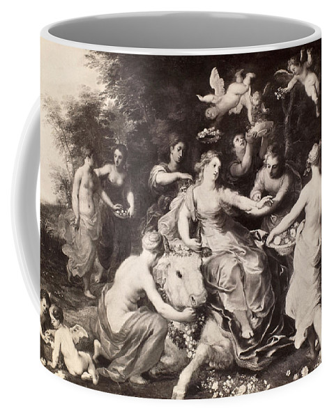 Abduction Coffee Mug featuring the painting Rape Of Europa by Granger