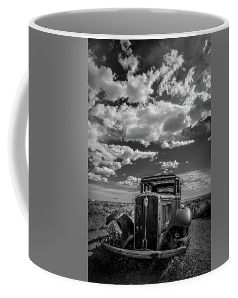 Coffee Mug featuring the photograph Rat Rod by AJ Ringstrom