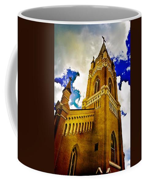Church Coffee Mug featuring the photograph Reaching For The Heavens by Scott Pellegrin