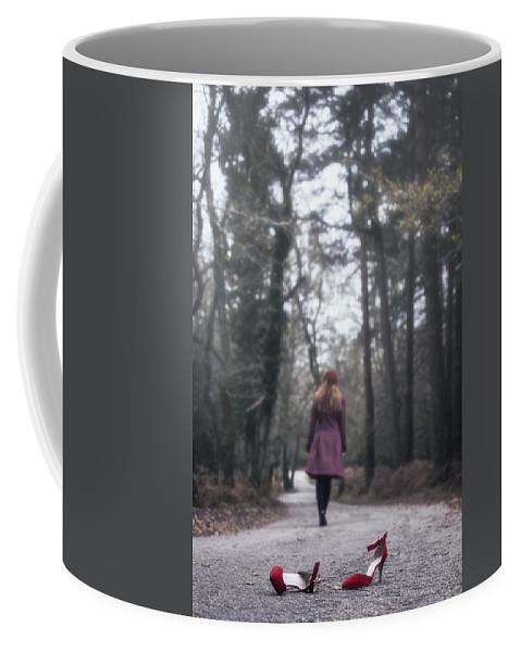 Winter Coffee Mug featuring the photograph Red Shoes by Joana Kruse