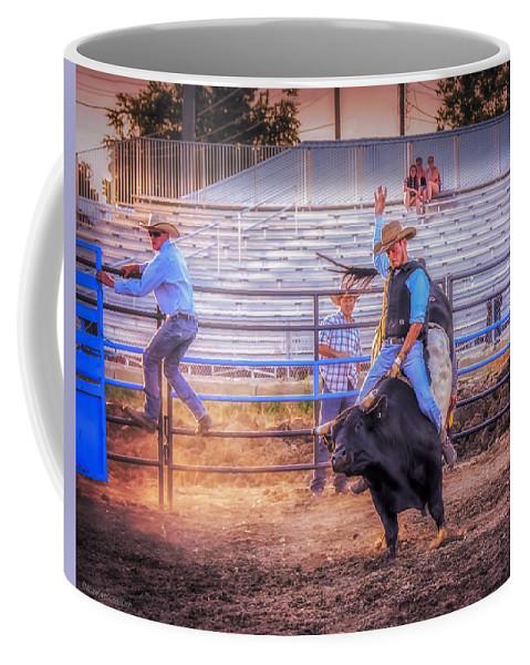 Sport Coffee Mug featuring the photograph Rodeo Rider by LeeAnn McLaneGoetz McLaneGoetzStudioLLCcom