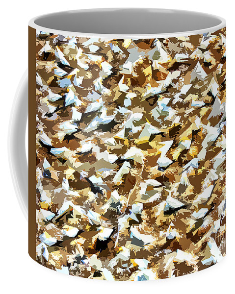 Rookery Coffee Mug featuring the photograph Rookery New Zealand by Stefan H Unger