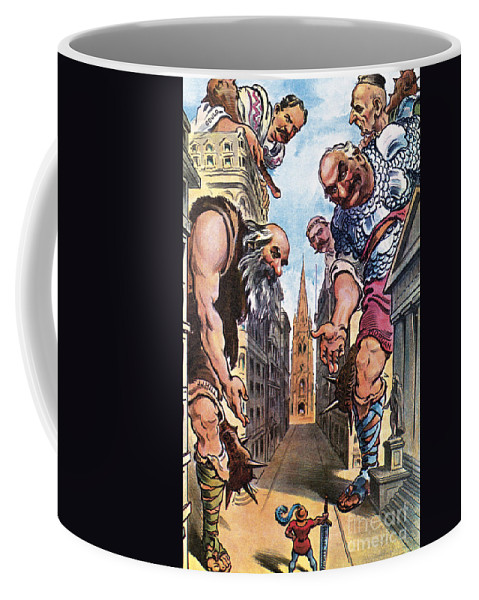 1904 Coffee Mug featuring the photograph Roosevelt Cartoon, 1904 by Granger